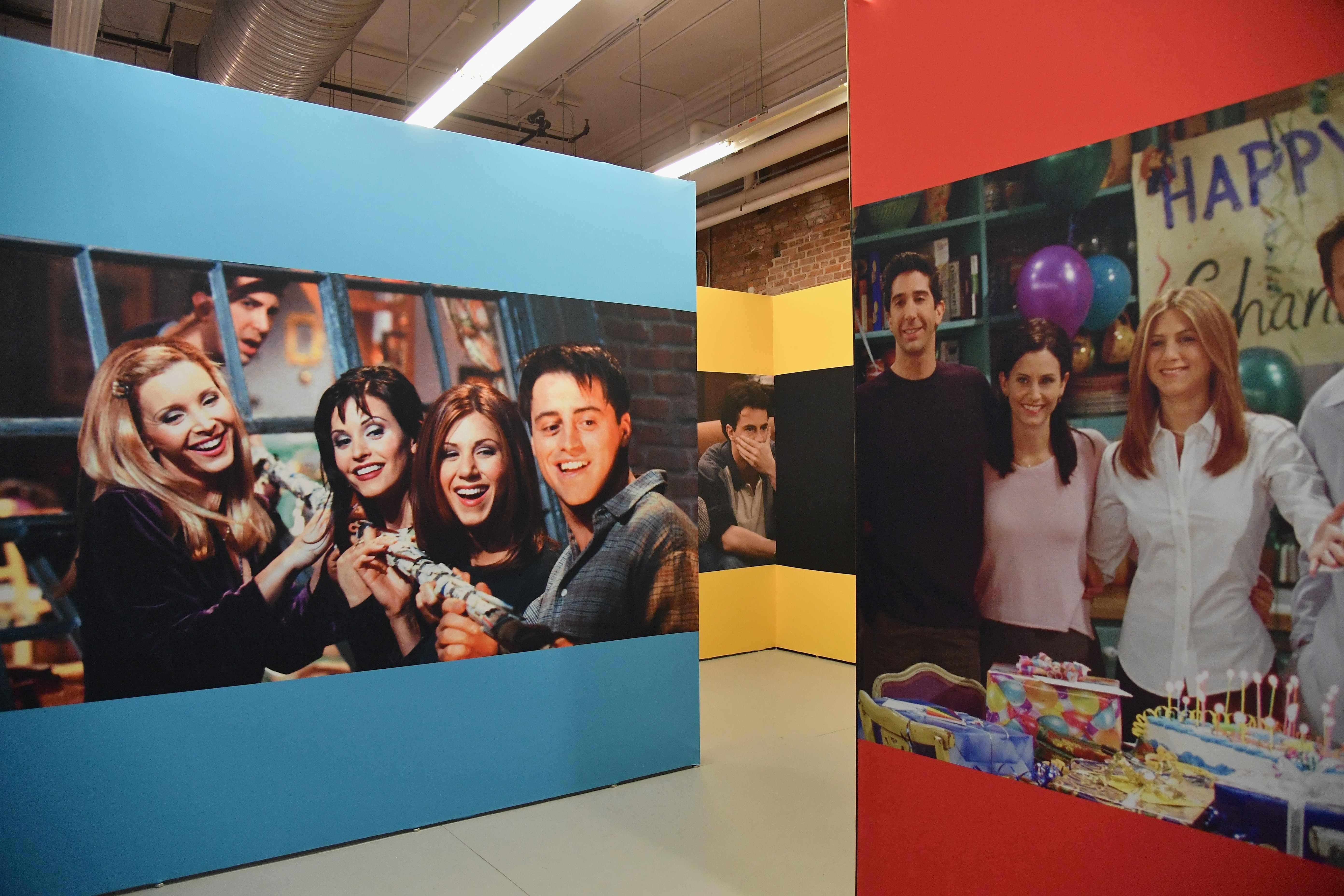 """Музей """"Friends"""" в Нью-Йорке"""