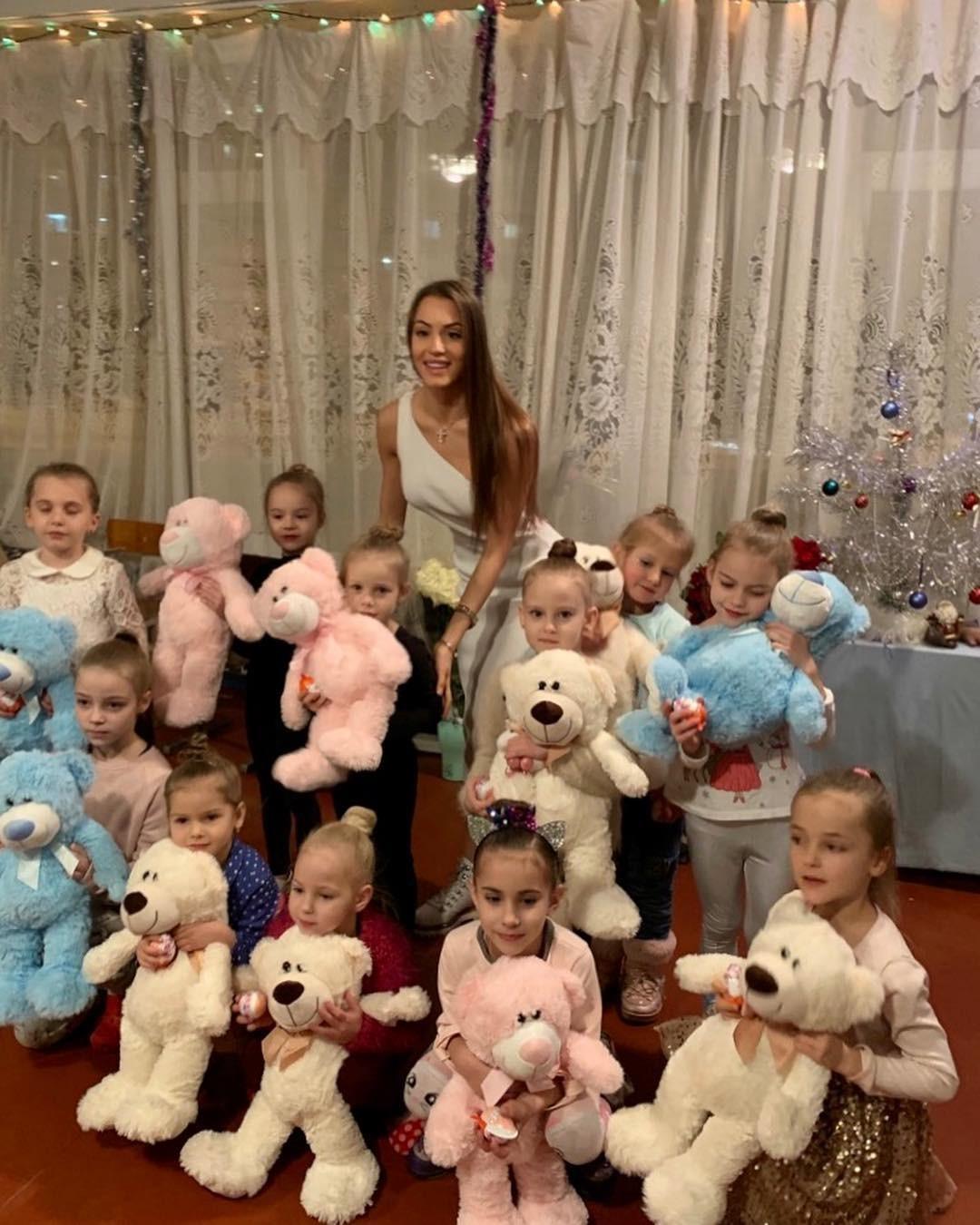 Маргарита Паша занимается благотворительностью