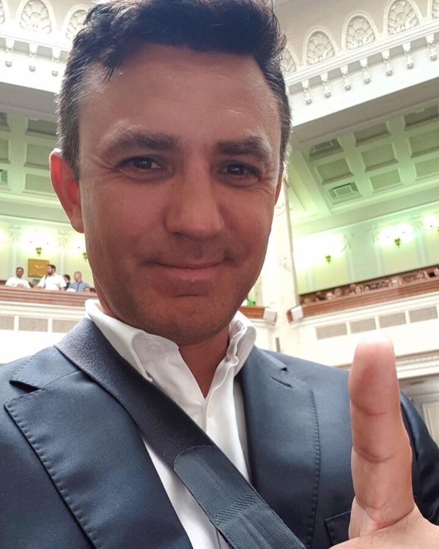 Николай Тищенко в Верховной Раде