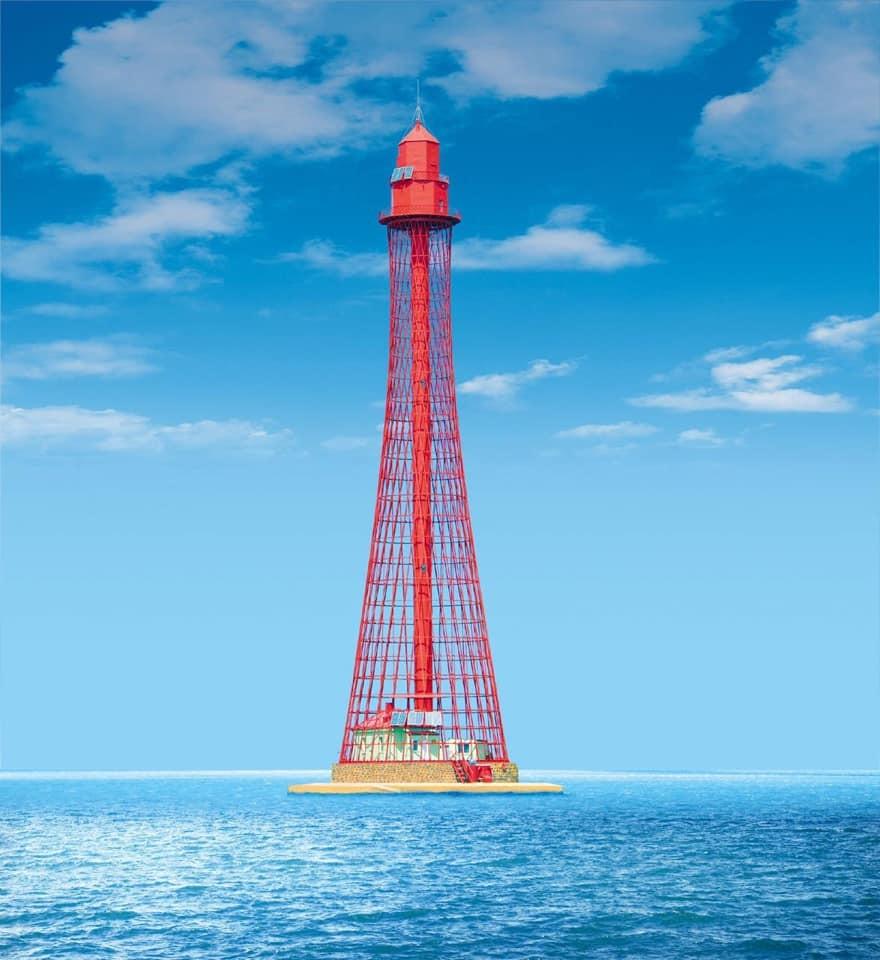 Станислав-Аджигольский задний маяк – самый высокий в Украине