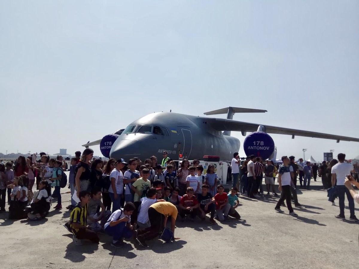 Ан-178 Фото: twitter.com/AntonovCompany