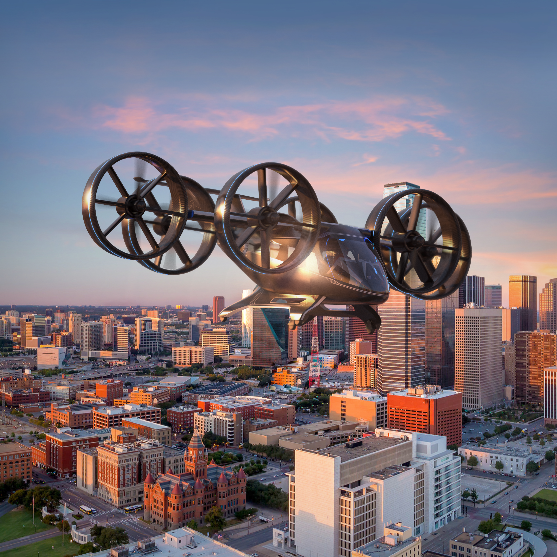 Проект летающего автомобиля от Uber и Bell Aircraft
