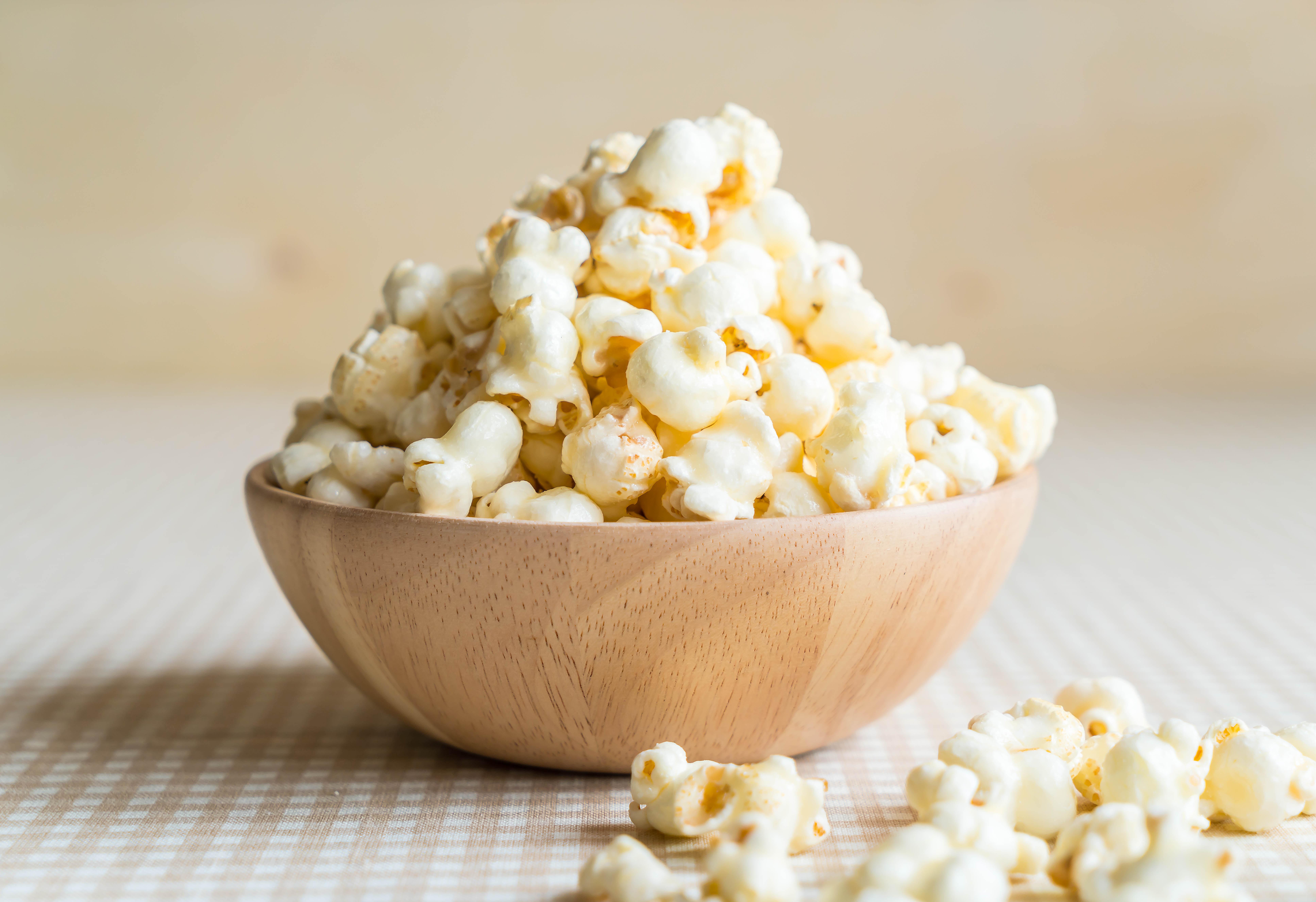 Самый полезный попкорн – без добавок