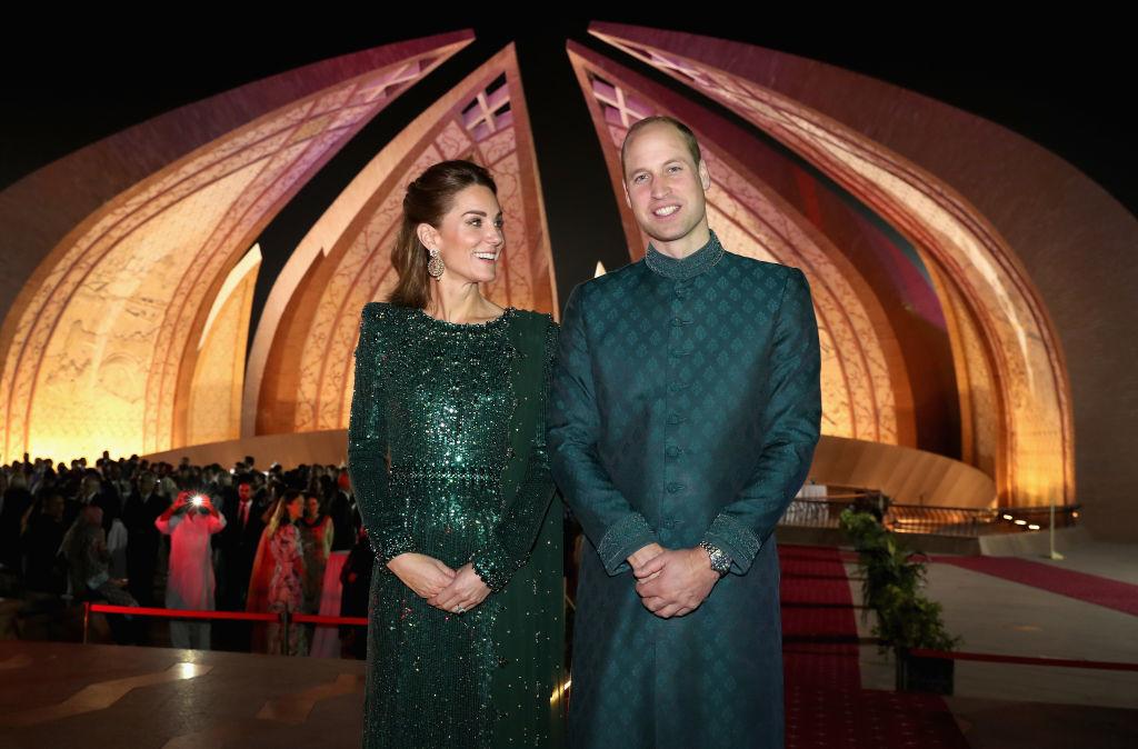 Кейт Миддлтон и принц Уильям в Пакистане