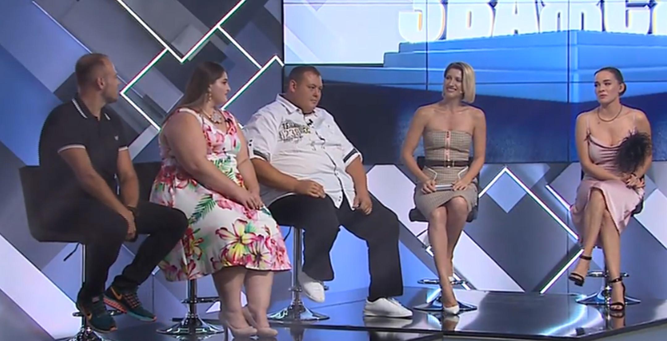 Даша Астафьева на ток-шоу