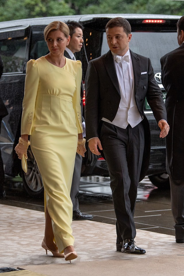 Владимир и Елена Зеленские в Японии