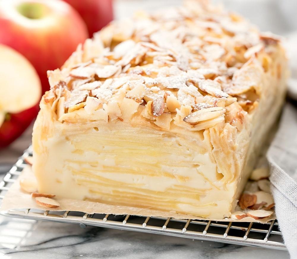 """Яблочный пирог-""""невидимка"""""""