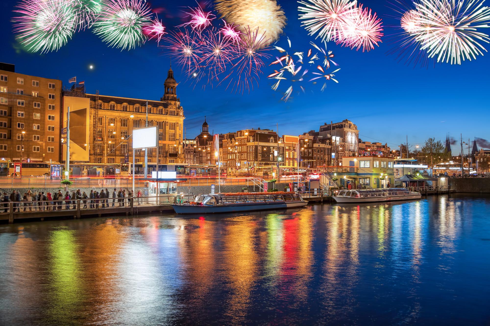 Новий рік в Амстердамі