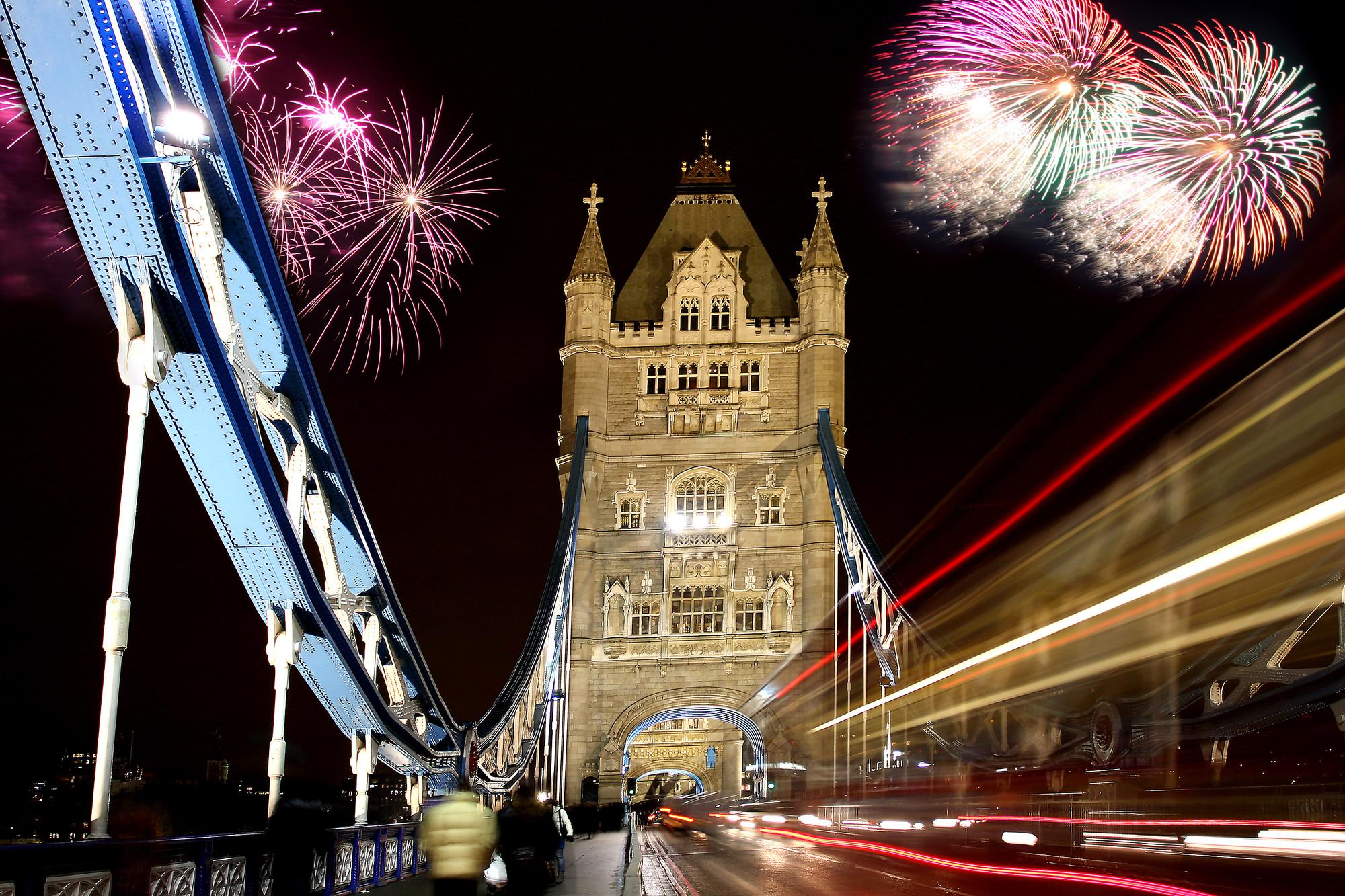 Новий рік в Лондоні