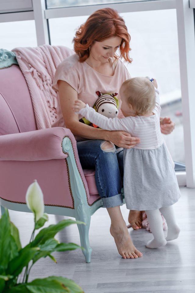 Ирина Говоруха с дочкой