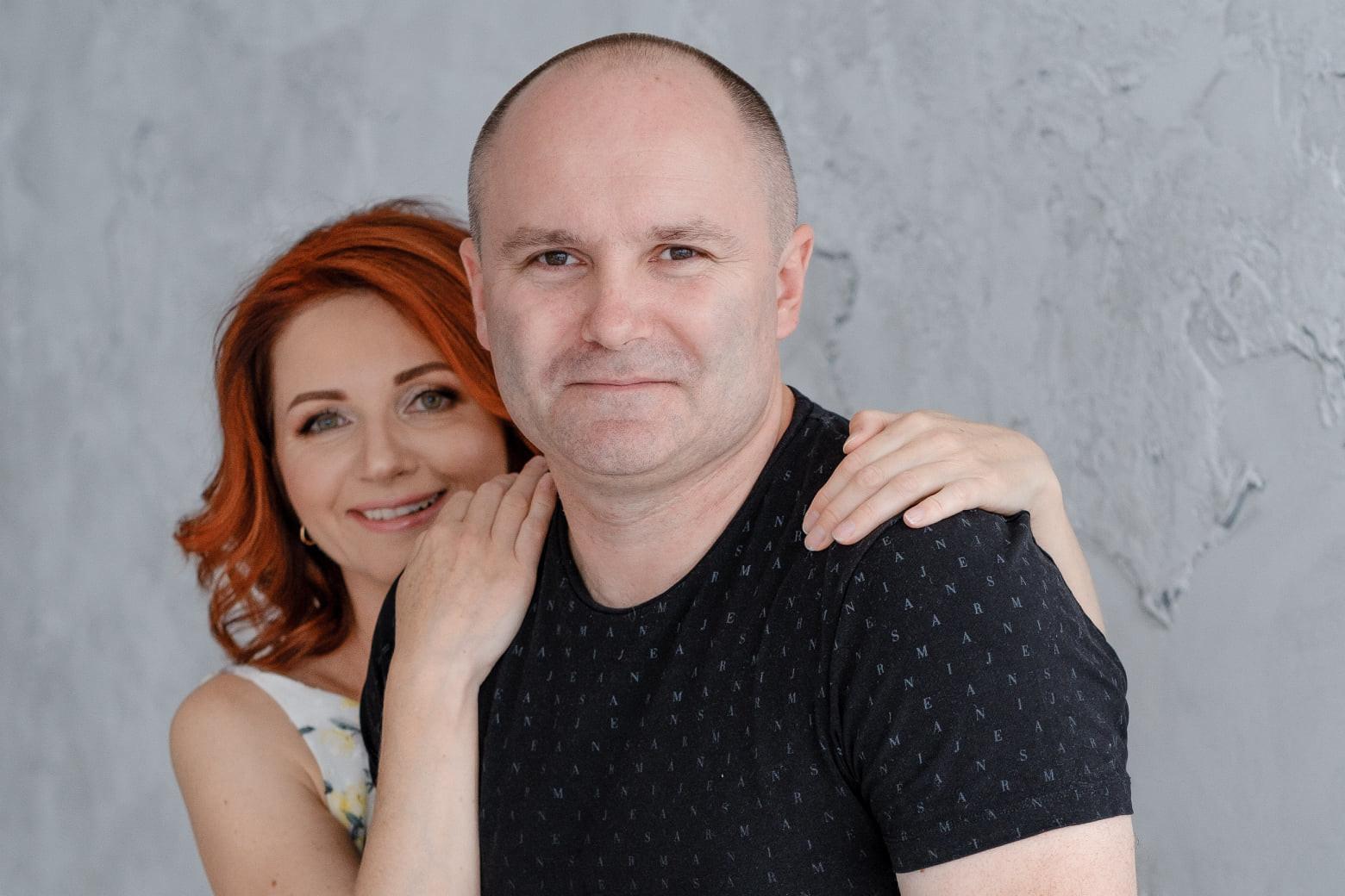 Ирина Говоруха с мужем Андреем