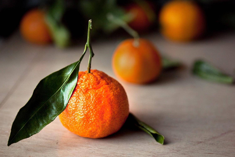 Сладкие мандарины – с тонкой кожицей
