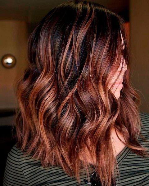 Модный цвет волос 2020-2021