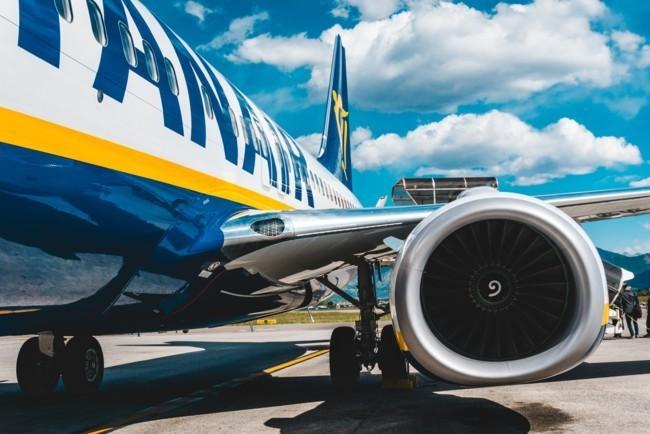 Ryanair змушена скасувати до 25% рейсів до Італії