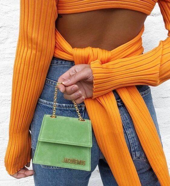 Мини-сумочки, Самые модные сумки зимы 2021: бахрома и животный принт