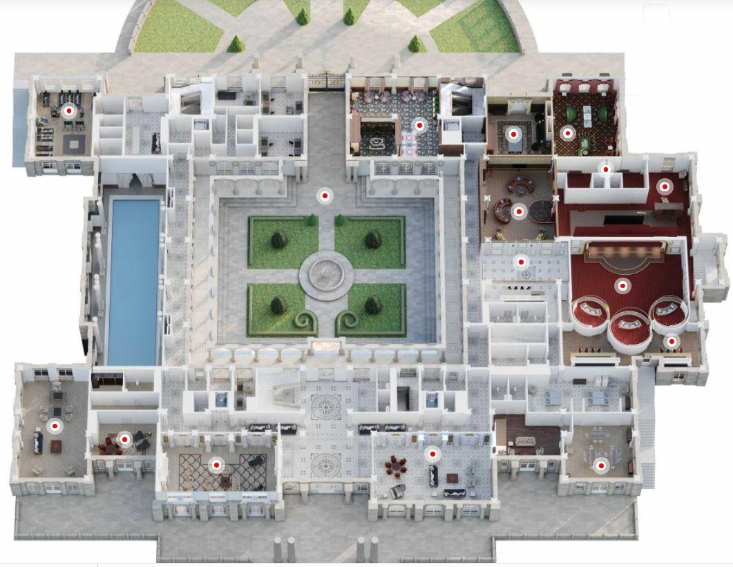 У него и стрип-клуб есть? Как выглядит дворец Путина изнутри (фото)