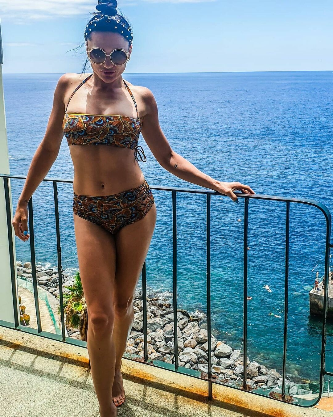 """Самый сексуальный узелок женского бокса: """"развязное"""" фото польской модели Playboy"""