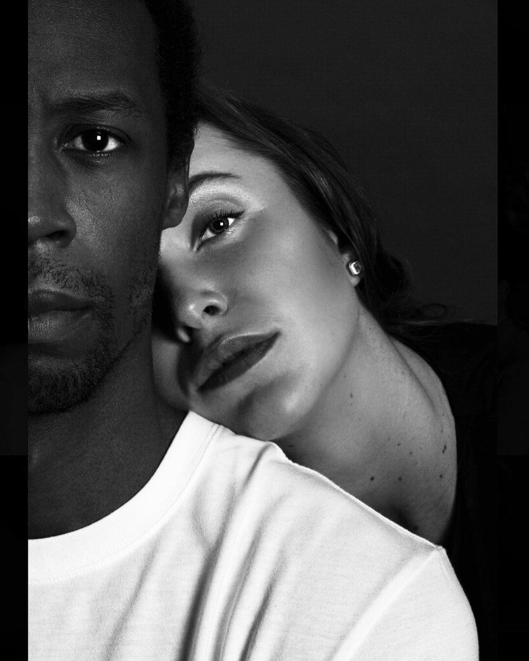 Черно-белая любовь: Свитолина и Монфис на Валентина романтично показали свои чувства в соцсетях