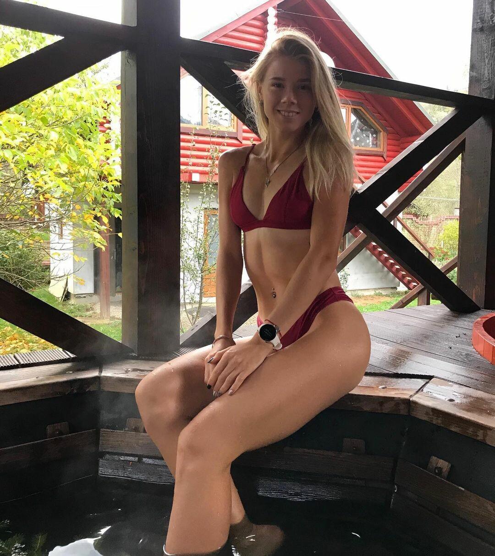 Сладкая Афродита: украинская легкоатлетка восхитила своей попой