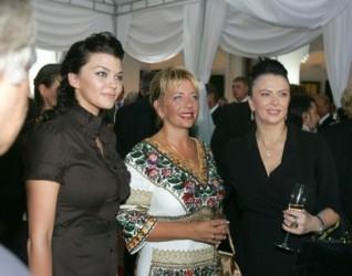 Ирина Блохина, Катерина Ющенко и Ирина Дерюгина. Фото пресс-службы президента