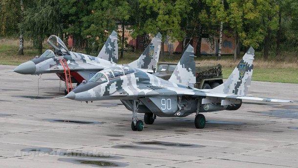 МіГ-29. Модернізований на українських