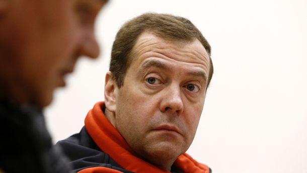 Дмитрий Медведев, фото AFP