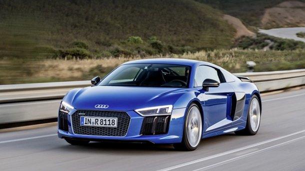 Audi R8 V10 Plus. Фото: из открытых источников