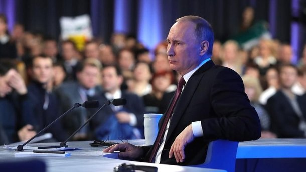 Путин не решится забрать Донбасс. Фото: пресс-служба Кремля