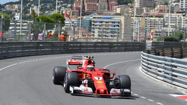 Кими Райкконен показал лучшее время в квалификации Гран-при Монако. Фото AFP