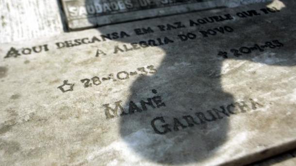 Могила Гаррінчі.Фото buzz.ie