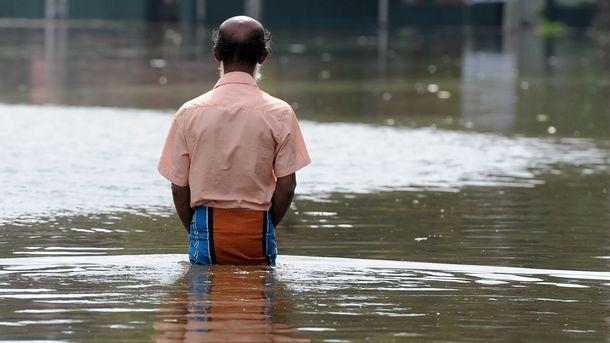 От стихии пострадали около 12 тысяч человек. Фото: AFP
