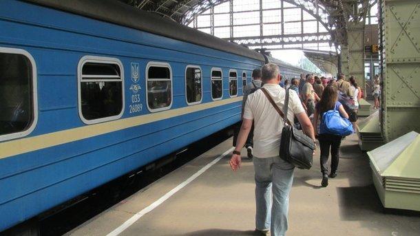 """""""Укрзализныця"""" запускает дополнительный поезд Киев-Одесса. Фото: flackelf, LiveJournal"""