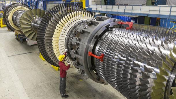 Турбина Siemens. Фото: siemens.com