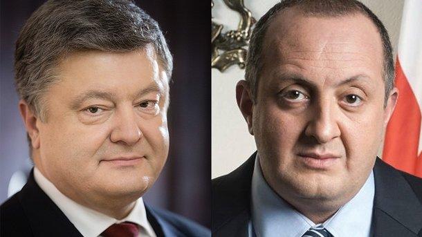 Президент Украины провел телефонный разговор с президентом Грузии. Фото: president.gov.ua