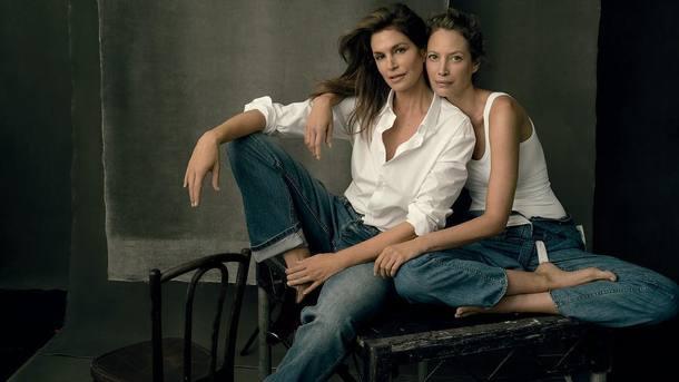 Синди Кроуфорд и Кристи Тарлингтон. Фото: instagram.com/cindycrawford