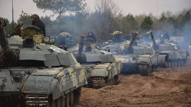 Российские войска. Фото: Facebook
