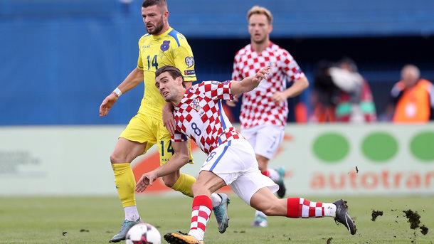 Хорваты вырвали победу. Фото AFP