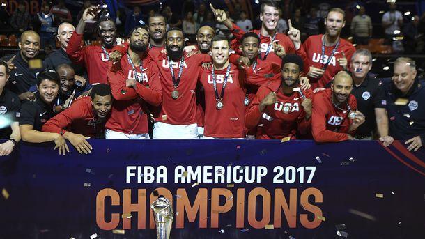 Чемпионы Америки. Фото AFP