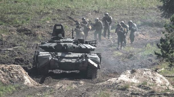 Российские войска. Фото: facebook.compgmod.mil.rus