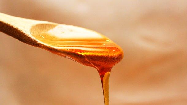 Натуральный мед тягучий