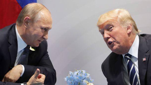 Дональд Трамп и Владимир Путин. Фото: AFP