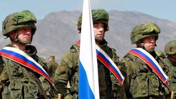 Российские солдаты. Фото:  facebook.com/Минобороны России