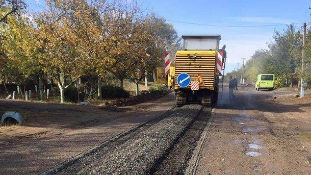 Одесская область. Начали ремонт трассы по направлению к Килии. Фото: oblrada.odessa.gov.ua