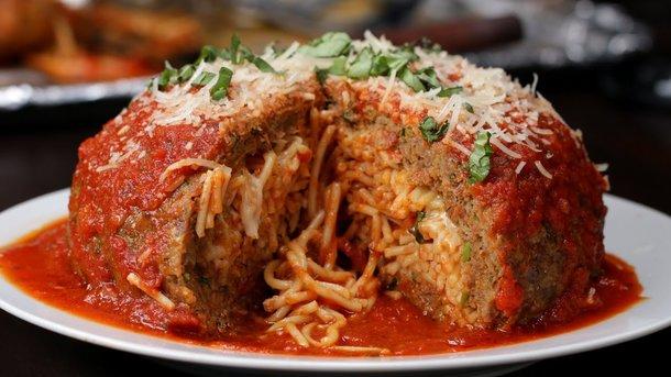 Митбол со спагетти Фото: pinterest.com