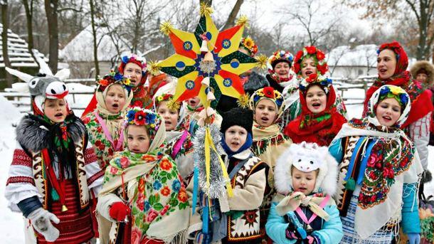 Как празднуют Рождество в Украине Фото: abc.net.au