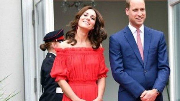 Кейт Миддлтон и принц Уильям. Фото: AFP