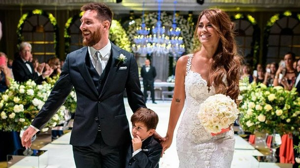Свадьба Месси. Фото Instagram