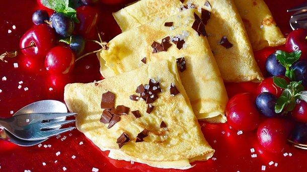 Блины с вишней Фото: pixabay.com