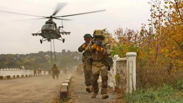 Українська армія готова до звільнення Донбасу. Фото: Facebook