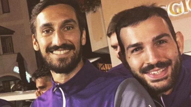 Давіде Асторі і Ріккардо Сапонара. Фото: Instagram
